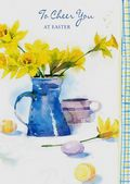 Easter Card-Daffodils